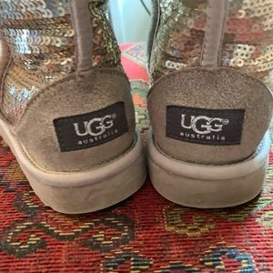 UGG Shoes - Sequin Uggs Classic Short Style